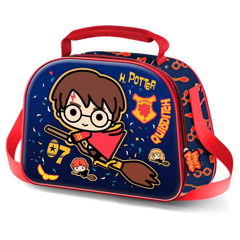Harry Potter Quidditch 3D lunch bag