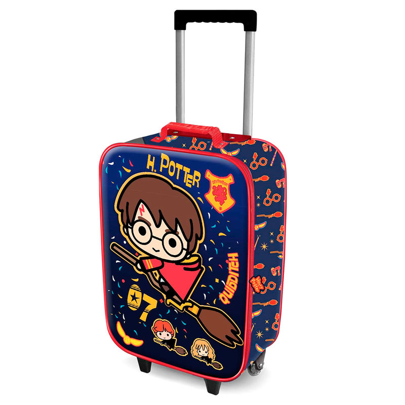Harry Potter Quidditch 3D trolley suitcase 52cm