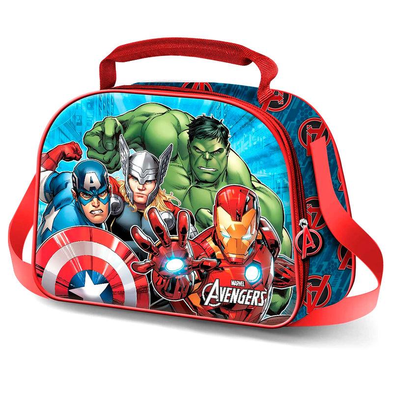 Marvel Avengers 3D lunch bag