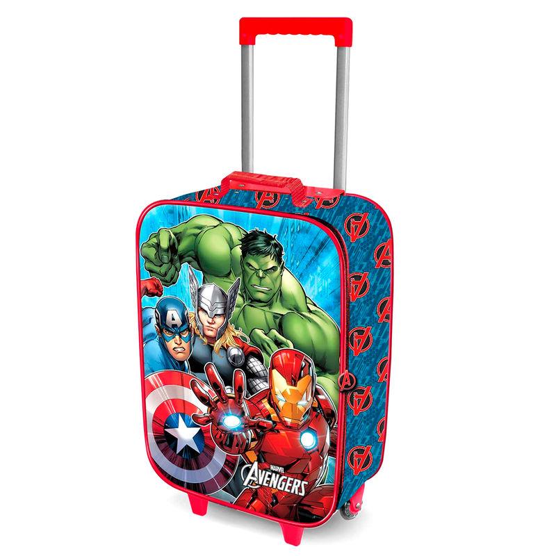 Marvel Avengers 3D reisikohver 52cm