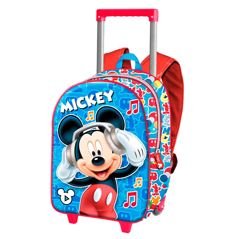 Disney Mickey Music 3D trolley 34cm