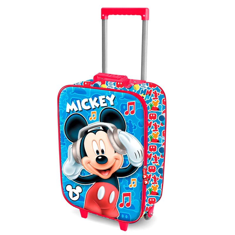 Disney Mickey Music 3D trolley suitcase 52cm