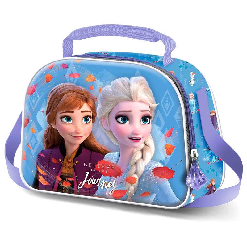 Disney Frozen 2 Journey 3D lunch bag