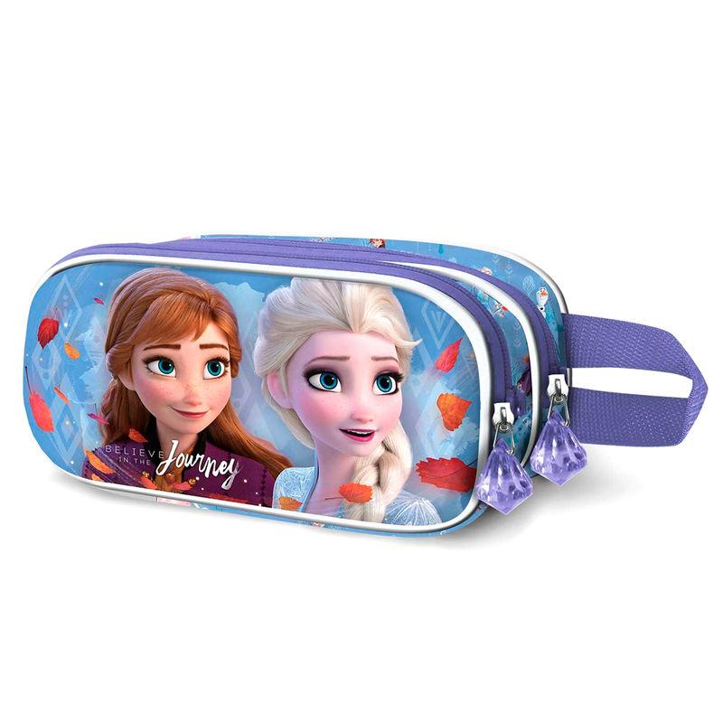 Disney Frozen 2 Journey 3D double pencil case
