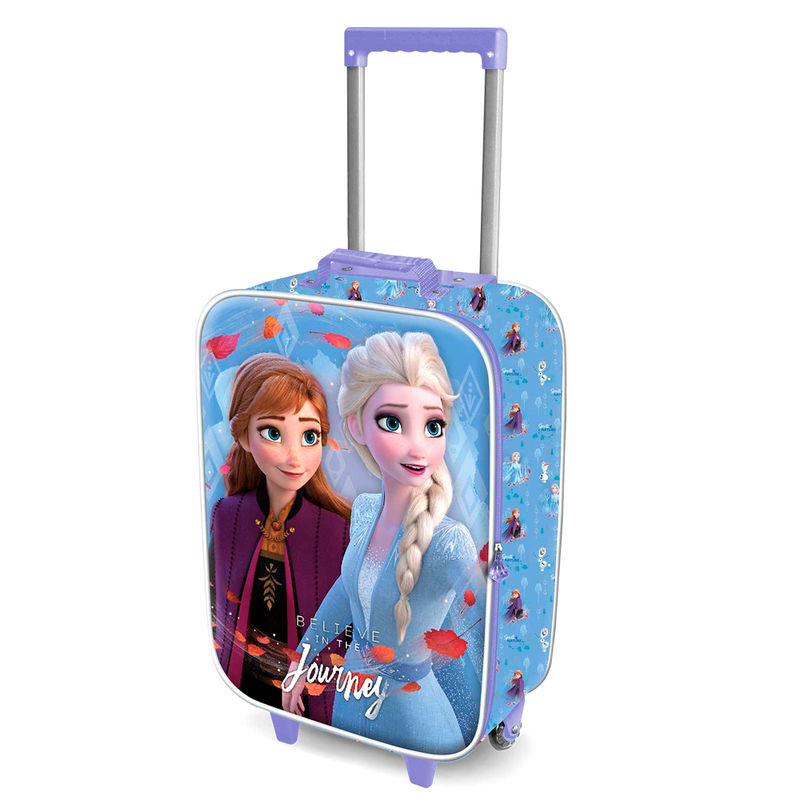 Disney Frozen 2 Journey 3D reisikohver 52cm