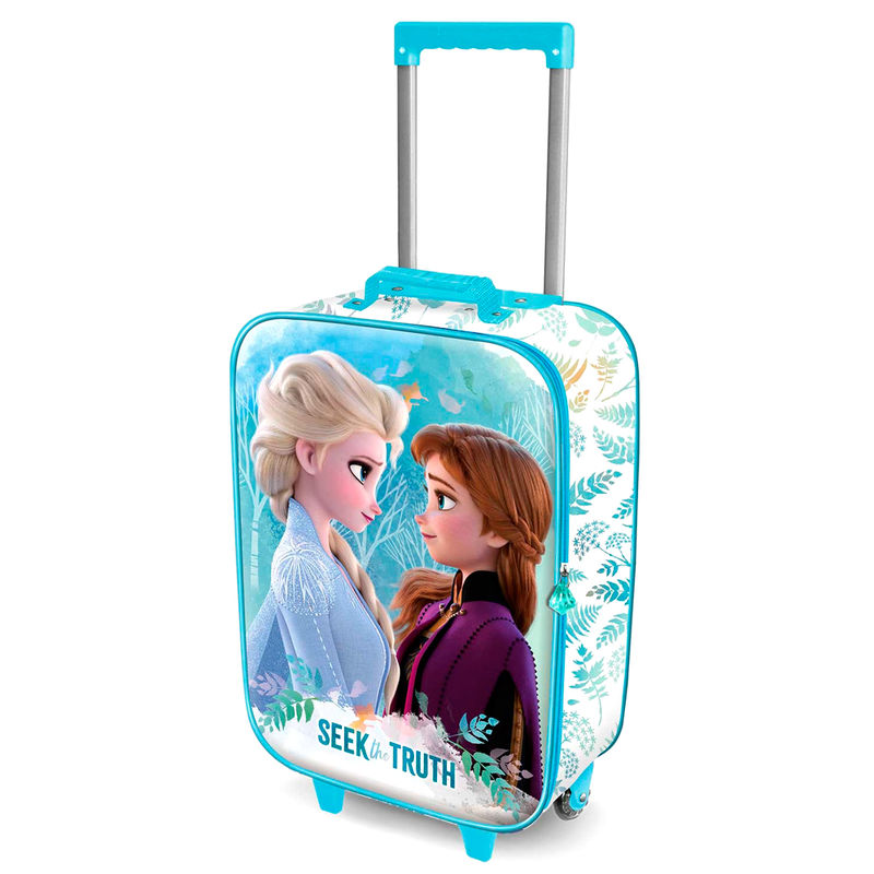 Disney Frozen 2 Seek 3D trolley suitcase 52cm