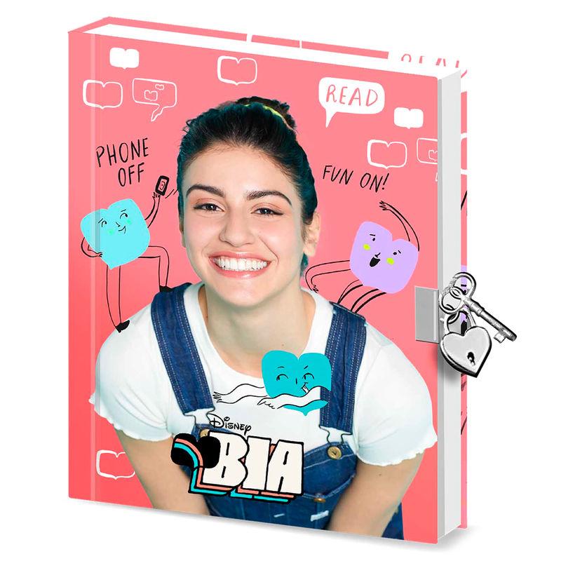 Disney Bia Like diary with key
