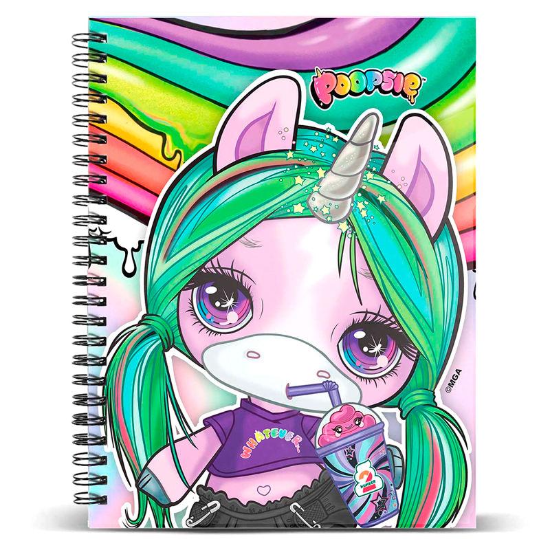 Poopsie Unicorn notebook