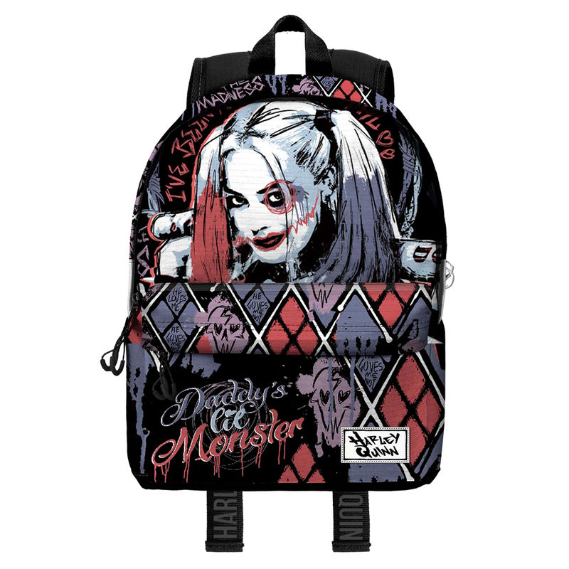 DC Comics Harley Quinn backpack 44cm