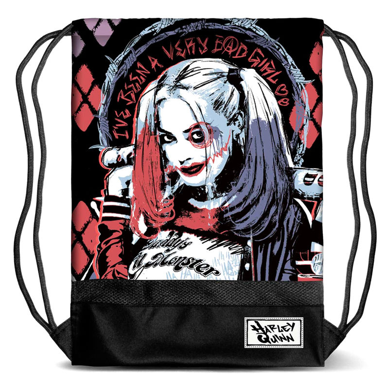 DC Comics Harley Quinn gym bag 48cm