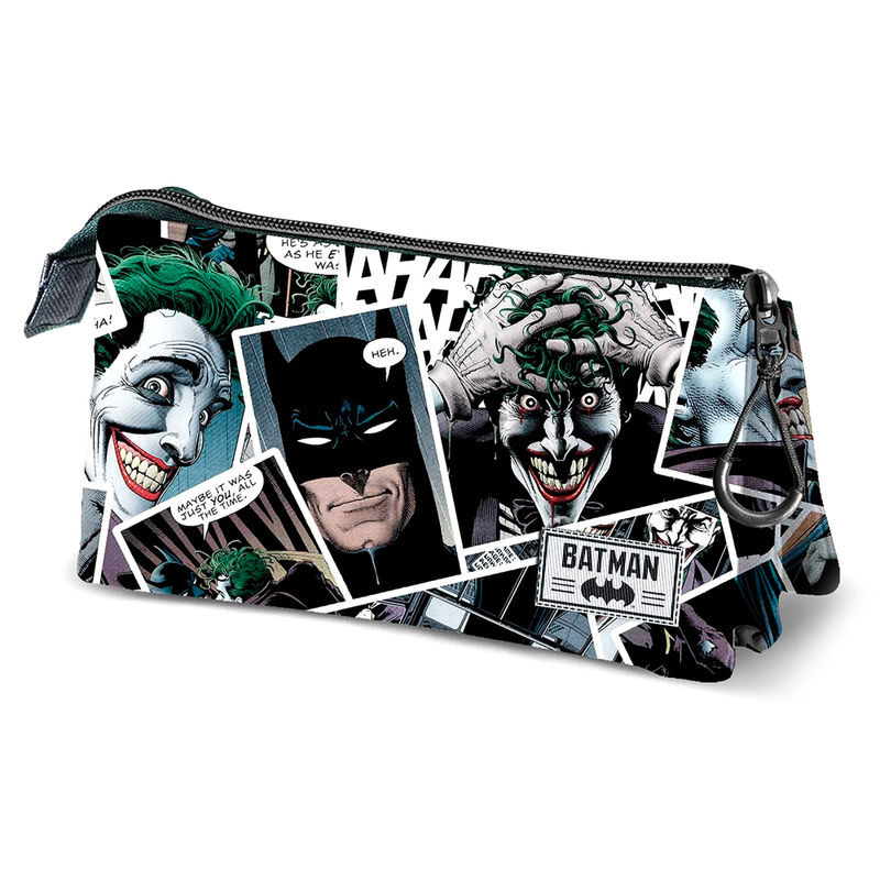 DC Comics Joker triple pencil case