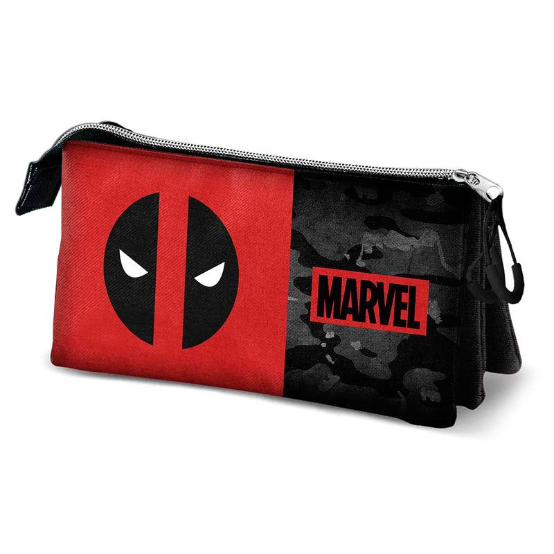 Marvel Deadpool triple pencil case