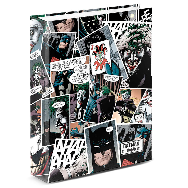 DC Comics Joker A4 folder 4 rings