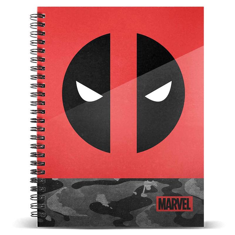 Marvel Deadpool A4 notebook