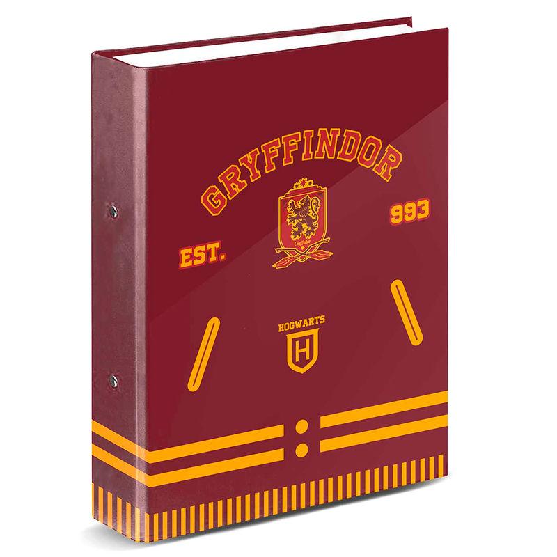 Harry Potter Gryffindor A4 folder 4 rings