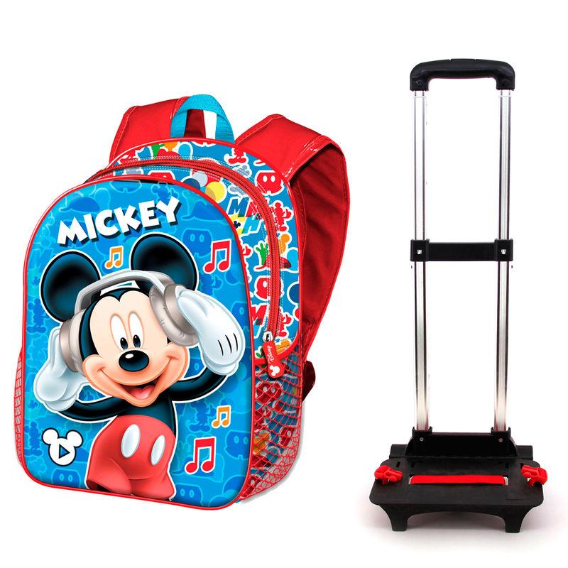 Disney Mickey Muusika seljakott-käru 48cm