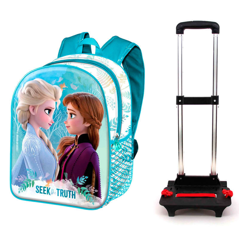 Disney Frozen 2 Pöörduge seljakott-käru 48cm