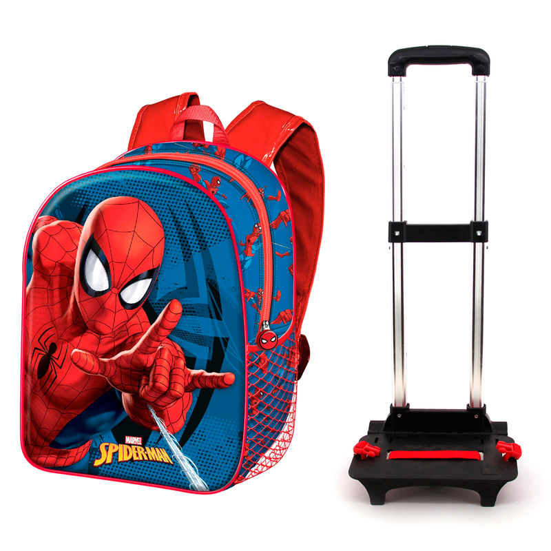 Marvel Spiderman trolley 48cm