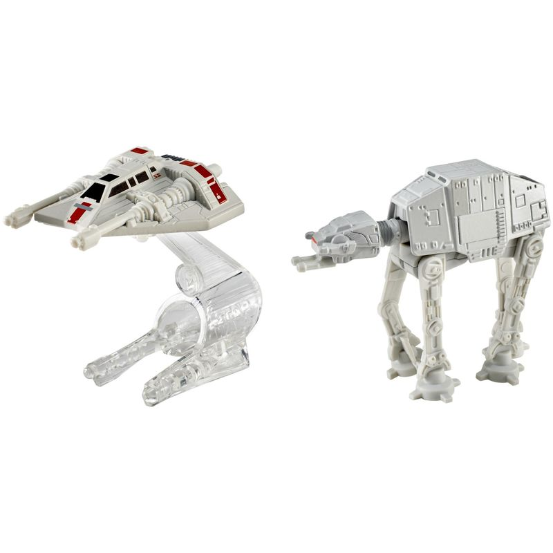 Blister AT-AT vs Reel Snowspeeder Star Wars Hot Wheels