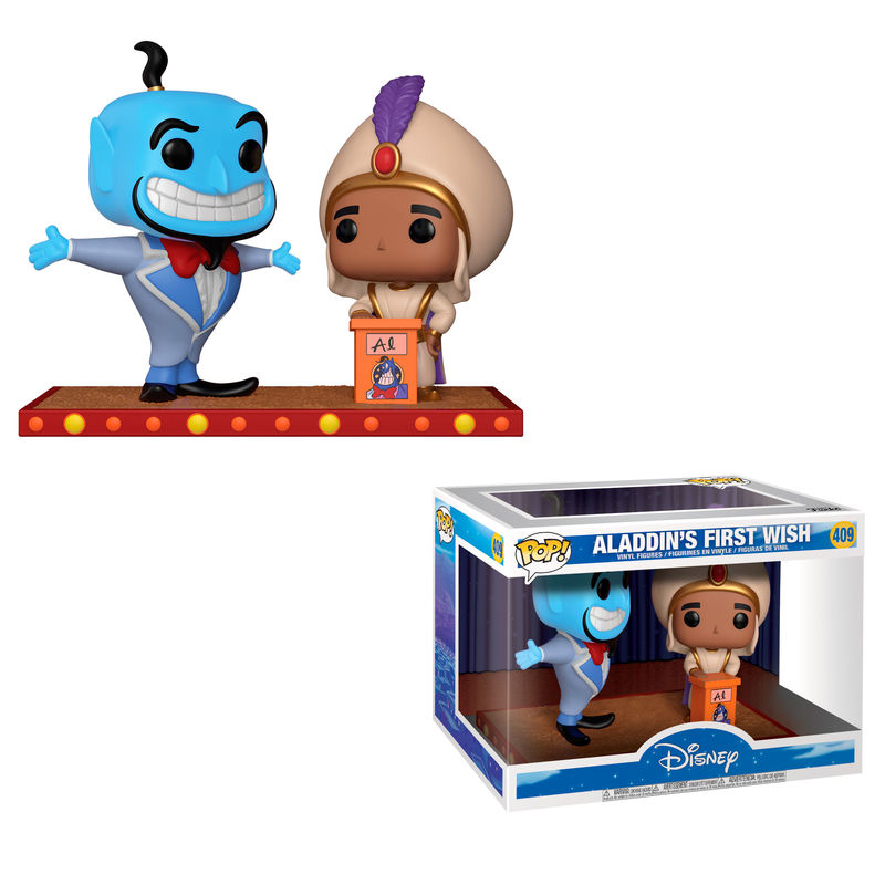 POP figure Disney Movie Moment Aladdin Genie