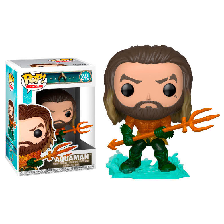 POP figure DC Comics Aquaman Arthur Curry in Hero Suit