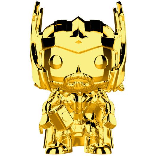 POP figure Marvel Studios 10 Thor Gold Chrome