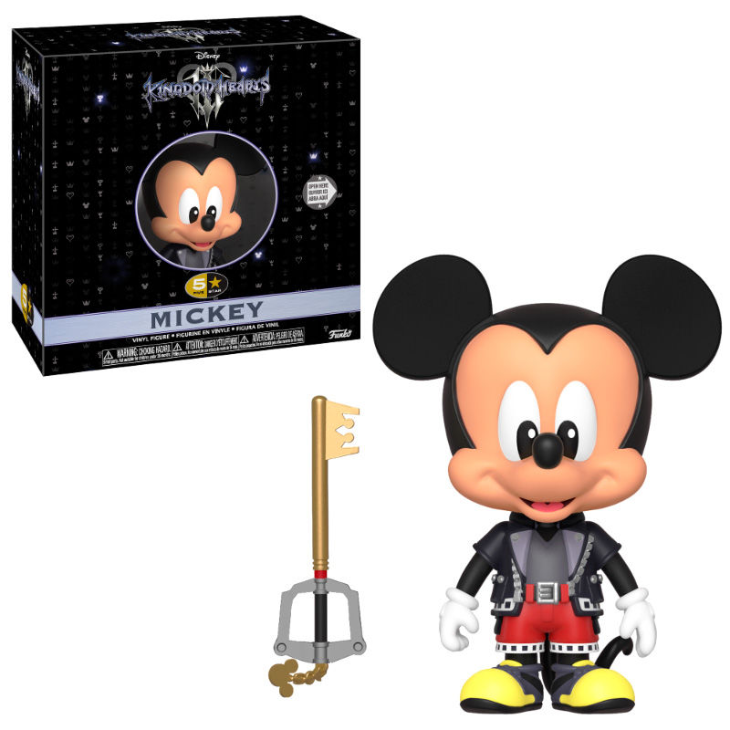 5 Star figure Disney Kingdom Hearts 3 Mickey