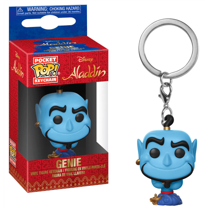 Pocket POP keychain Disney Aladdin Genie