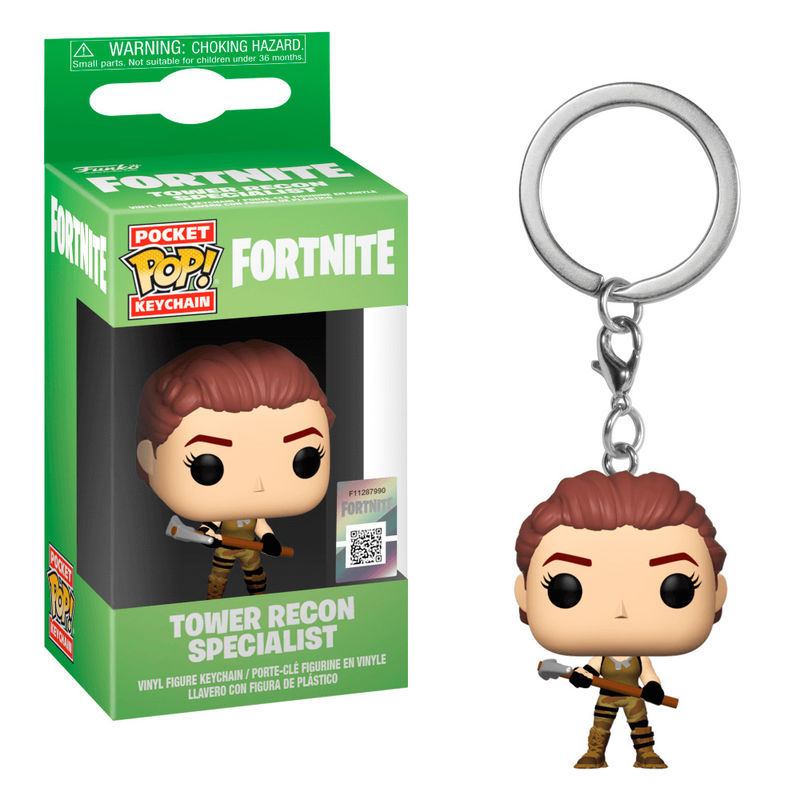 Pocket POP keychain Fortnite Tower Recon Specialist