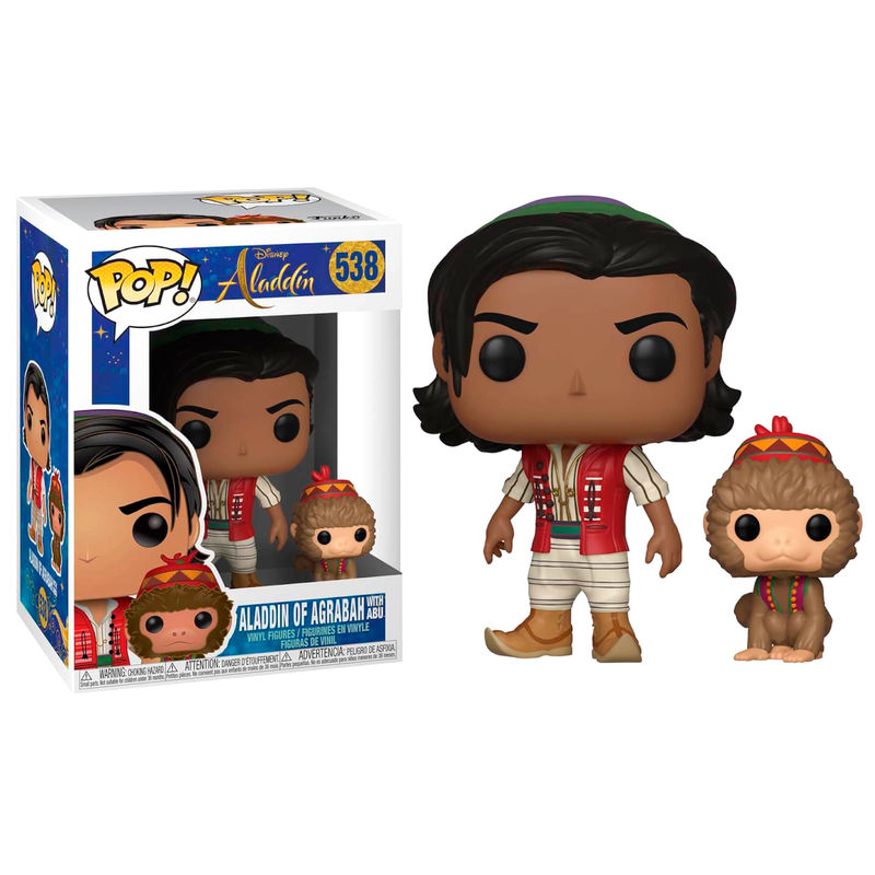 POP figure Disney Aladdin Aladdin with Abu