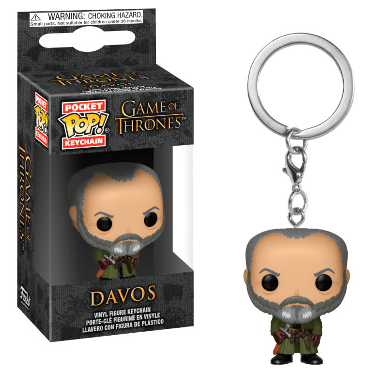 Pocket POP keychain Game of Thrones Davos