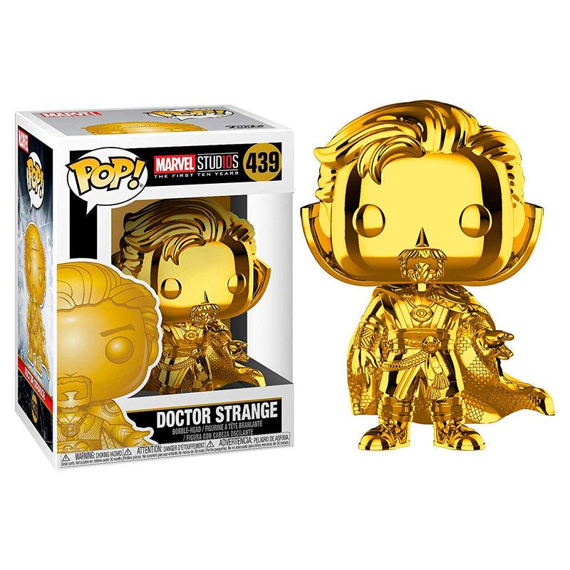 POP figure Marvel Studios 10 Doctor Strange Chrome