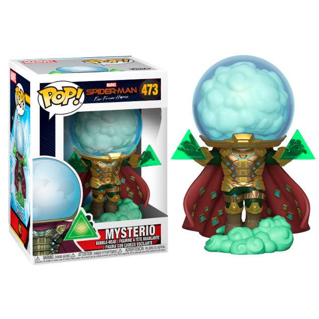 POP figure Marvel Spiderman Far From Home Mysterio