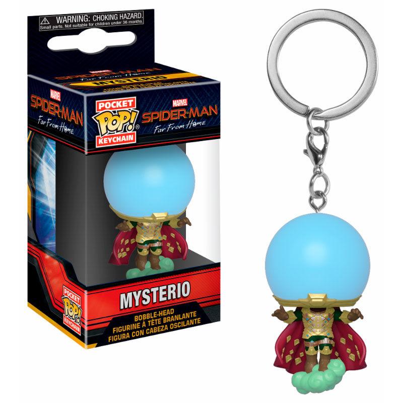 Pocket POP keychain Marvel Spiderman Far From Home Mysterio