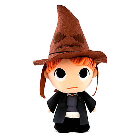 Harry Potter Ron with sorting hat plush toy 15cm