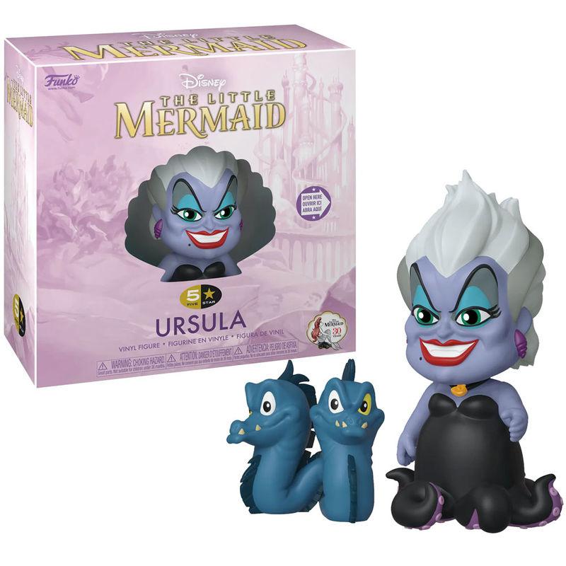 5 Star figure Disney Little Mermaid Ursula