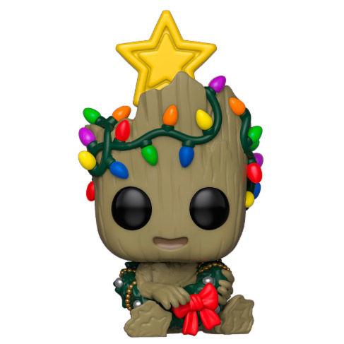 POP figure Marvel Holiday Groot