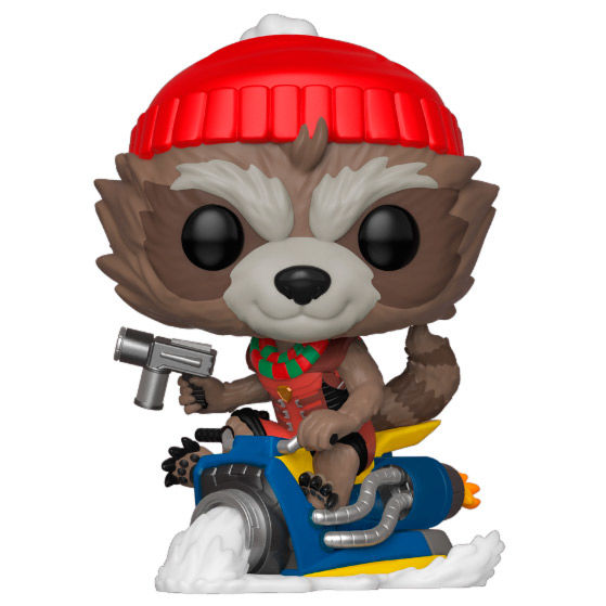 POP figure Marvel Holiday Rocket