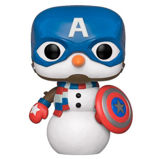 POP figure Marvel Holiday Captain America