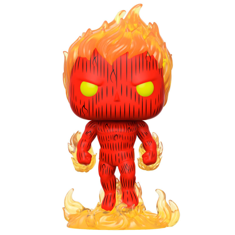 POP figure Marvel Fantastic Four Human Torch