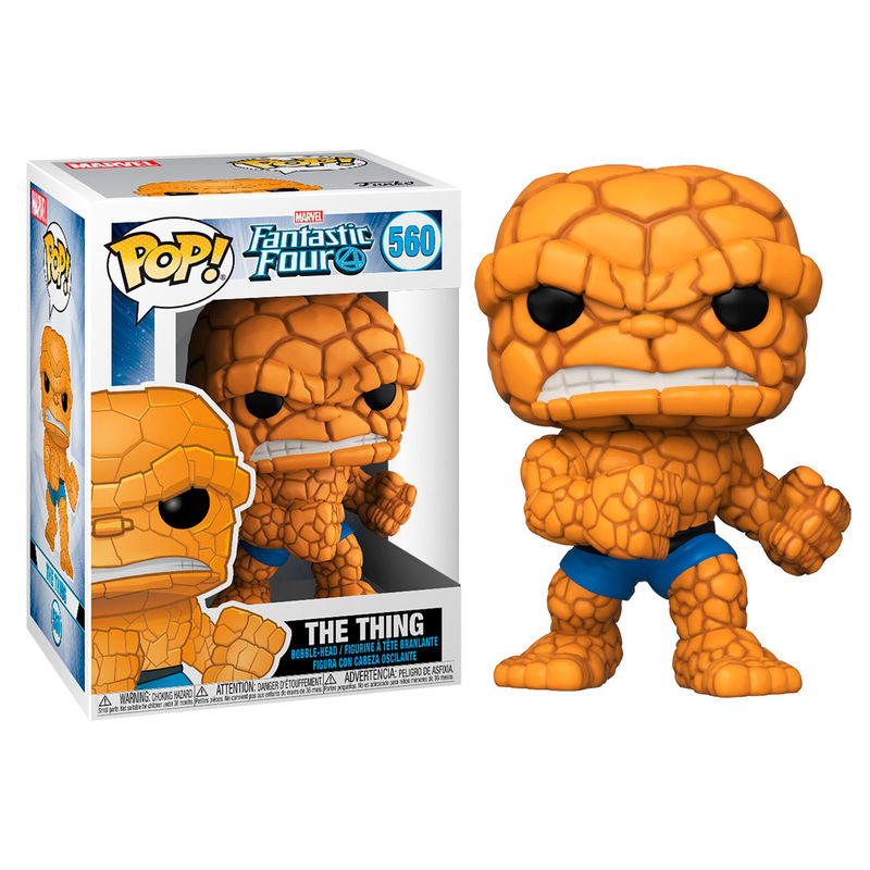 POP figure Marvel Fantastic Four The Thing