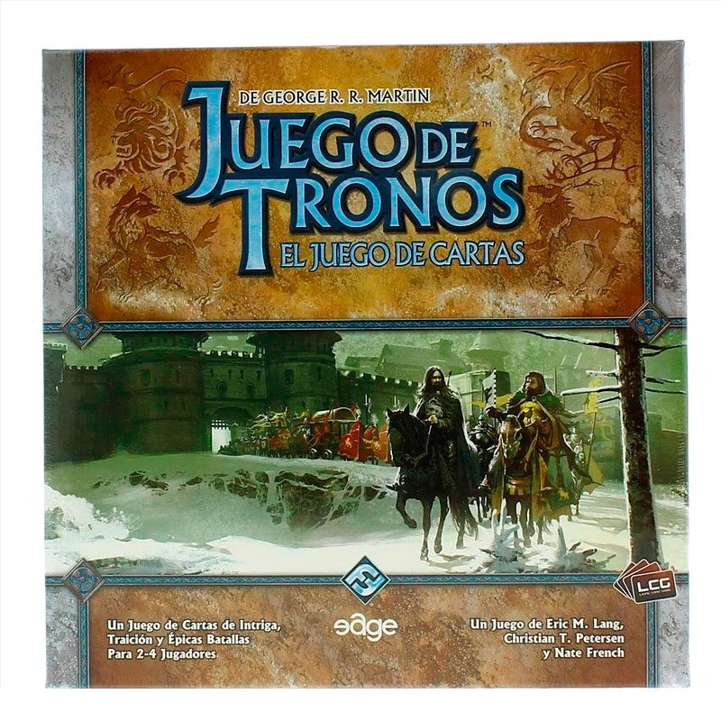 Game of Thrones spanish cards game